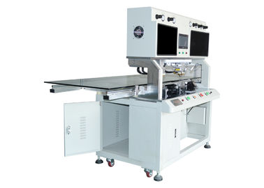 "China 85"" Flex Cable Acf TV LCD Bonding Machine Pulse Heating Mode PLC Control supplier"