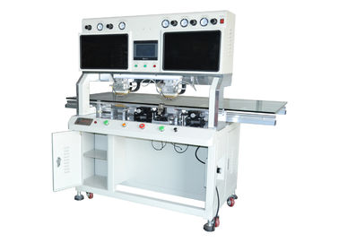 China Cof Tab Heat Bonding Machine Double Head Pulse 616DH For Mobile Phone LCD factory