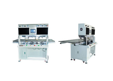 China LCD OLED LED Bonding Machine , Heat Bonding Machine Double Heating Heads distributor
