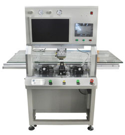 China LCD Flex Cable LED TV Bonding Machine With Tab Cof Acf Tape Pulse Heat factory