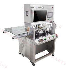China 610DH LCD Bonding Machine , Lcd Flex Cable Repair Machine With Tab Cof Acf Tape Pulse Heat distributor