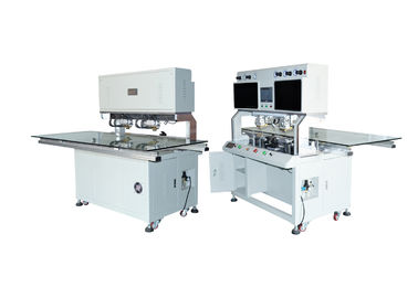 China 618SH Acf Display Repair Machine , Lcd Cof Bonding Machine Plane Precision 0.005 Mm factory