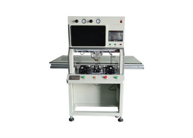 China Flex Cable Acf Tab Cof LCD Bonding Machine Single Head Robust Design 1500W factory