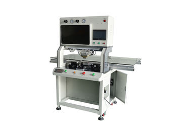 China 610DH Single Head Acf/Cof LED TV Bonding Machine Button Operation For LCD Screen factory