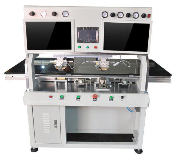 616dh AC220 V Automatic Tab Cof Bonding Machine For Big Size LCD Screen Rework
